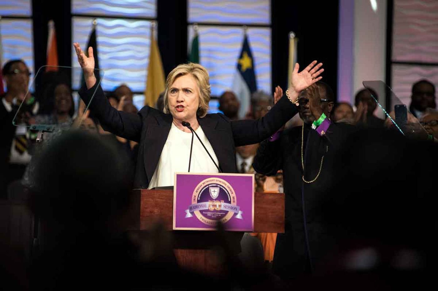 Hillary Clinton in Philly speech: Police killings show 'implicit bias'