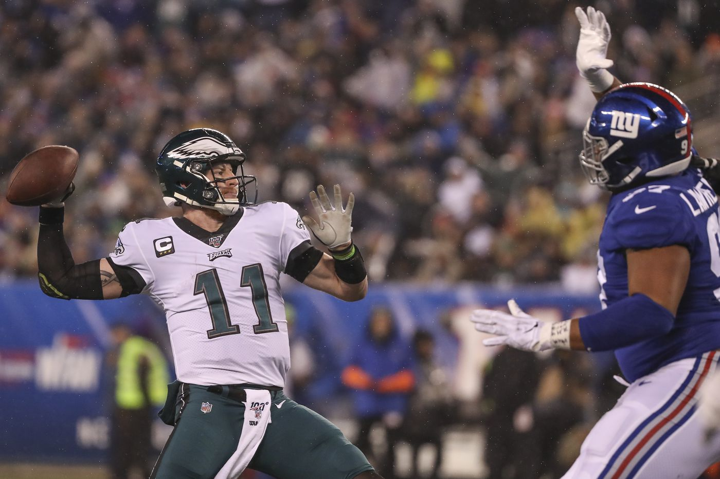 Eagles-Giants: Up-Down Drill: Carson Wentz comes through with a cast of unknowns
