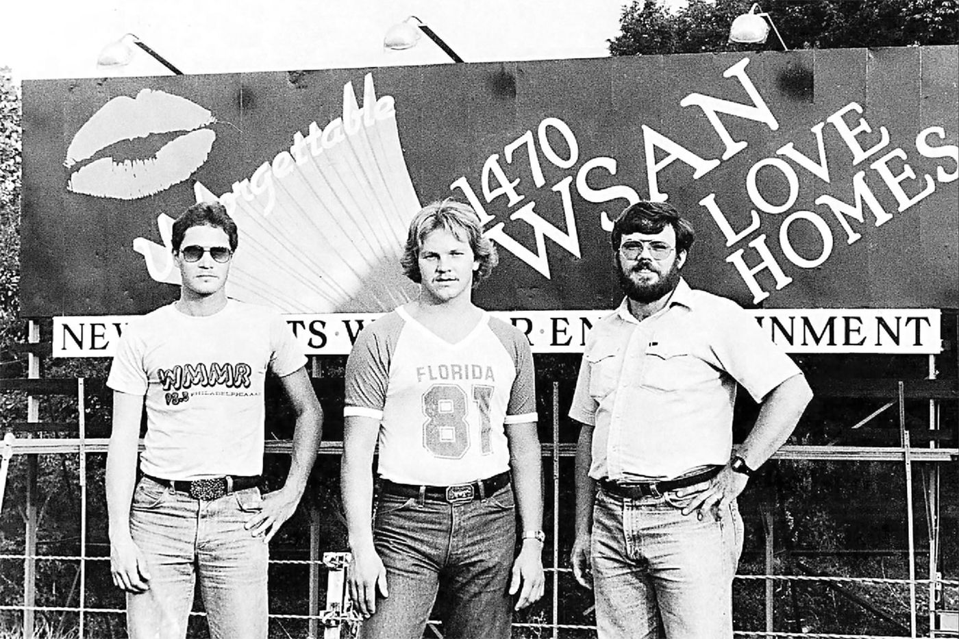 In 1982, three Allentown guys sat on a billboard for 261 days to win a house