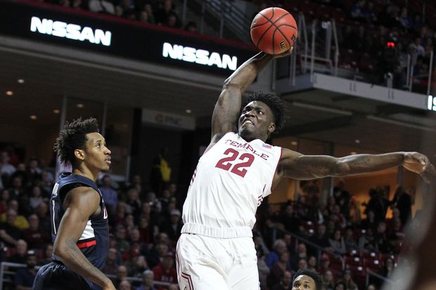 Temple's loss to Tulsa didn't help its NCAA Tournament chances, but apparently didn't hurt them, either