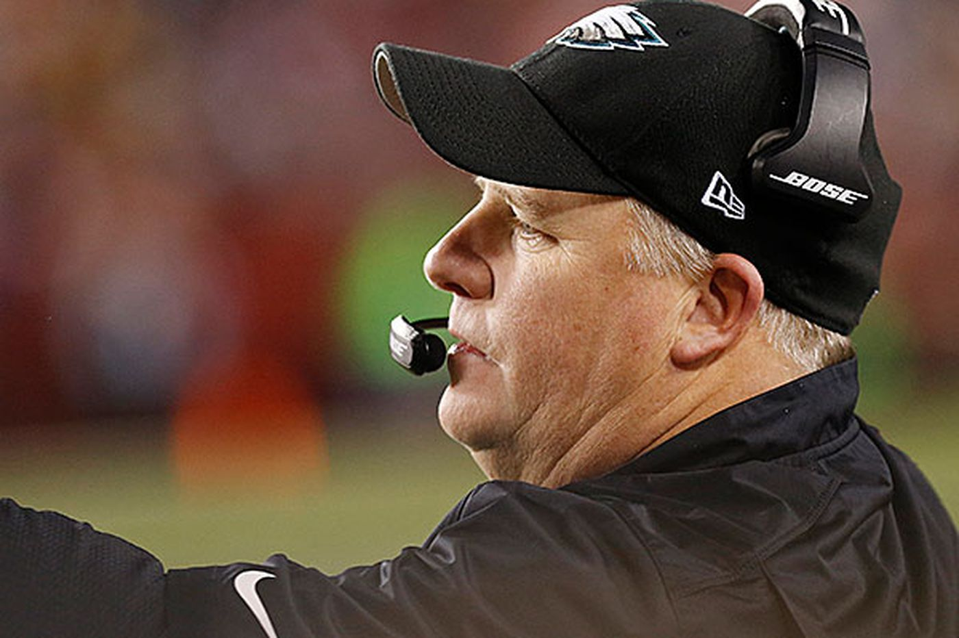 Is Chip Kelly getting along with Howie Roseman?