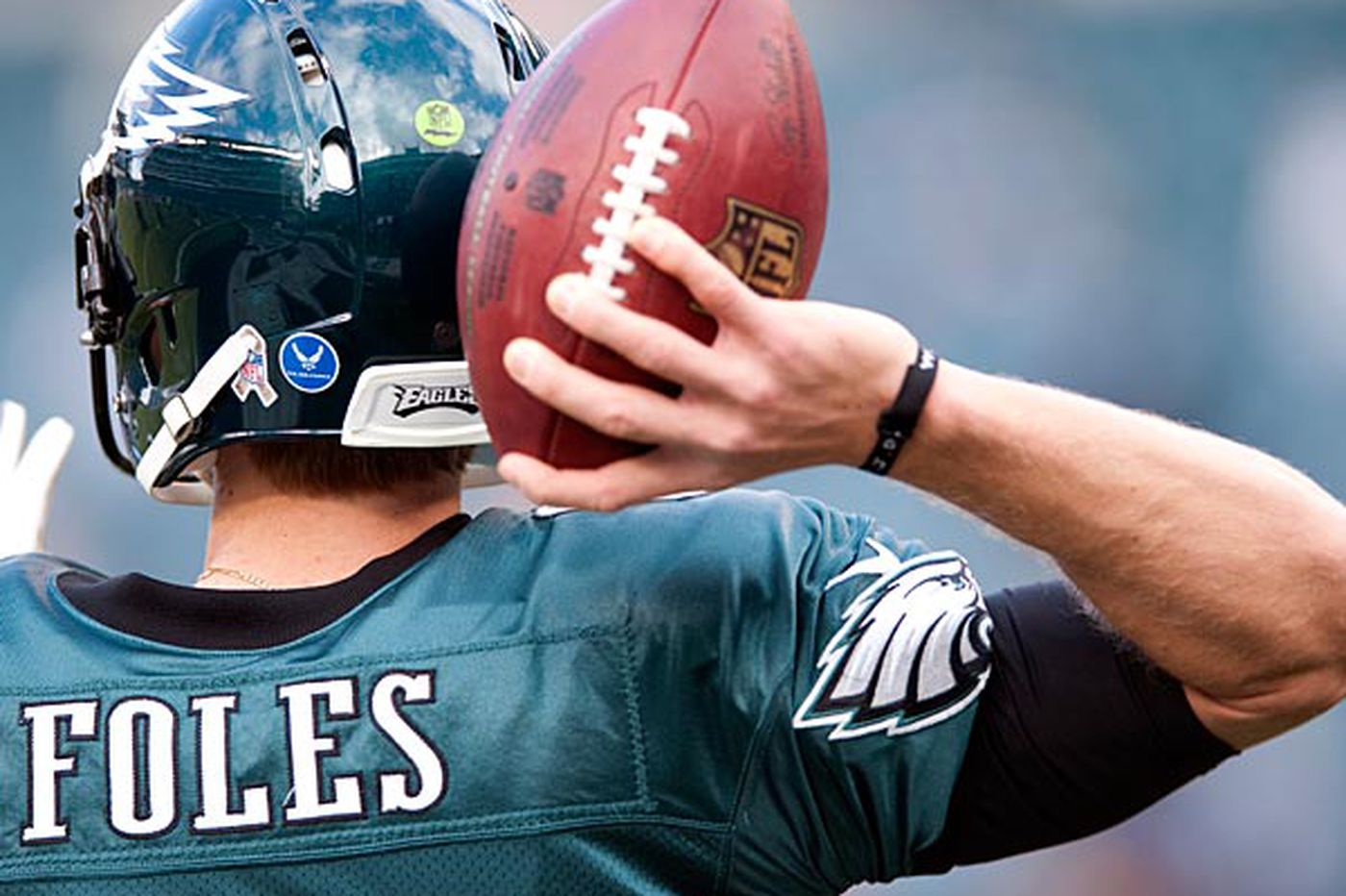 quality design eb259 768fb Nick Foles: A peek behind the curtain