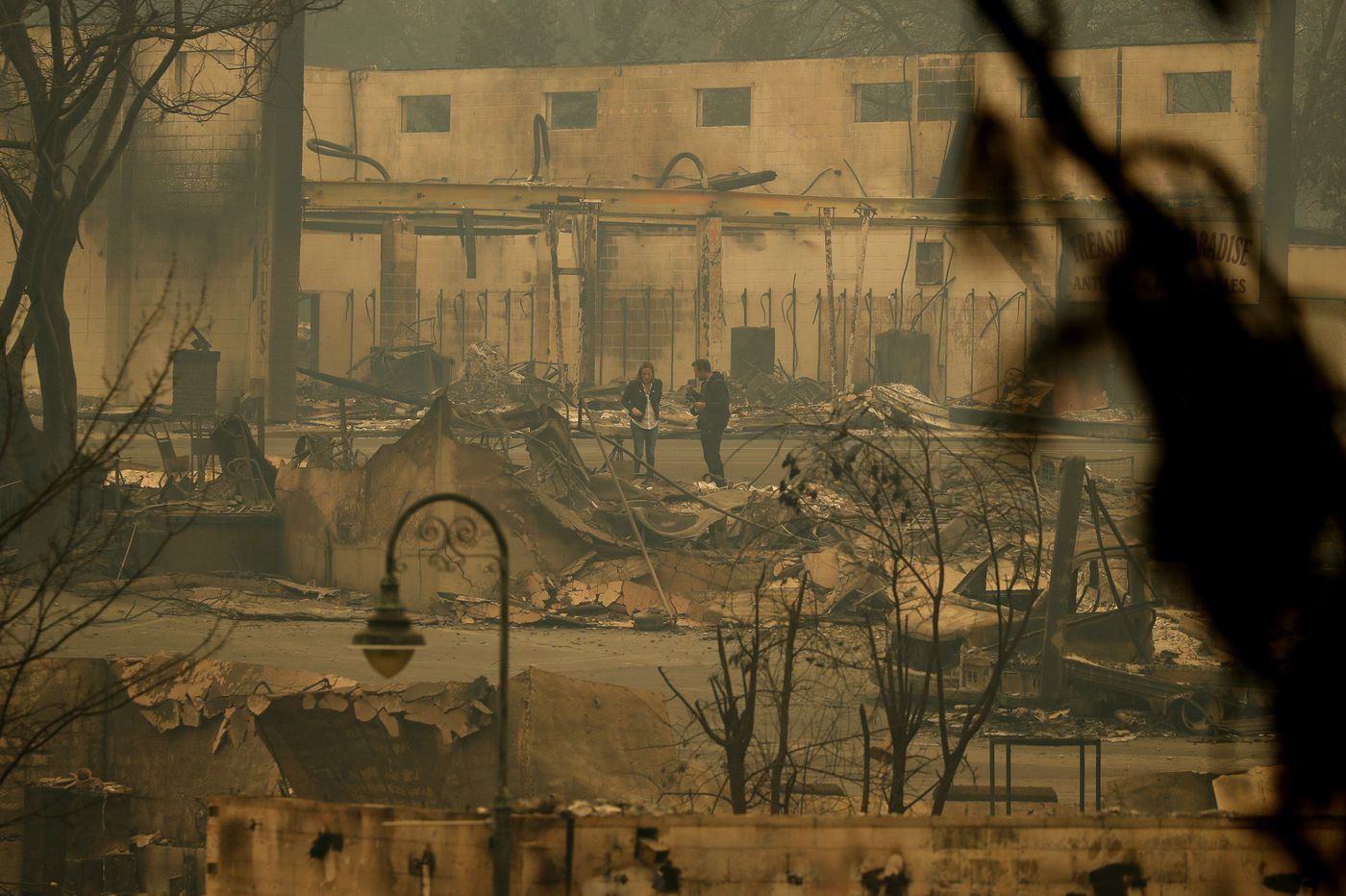 Northern California fire death toll hits 63; sheriff says 631 still missing