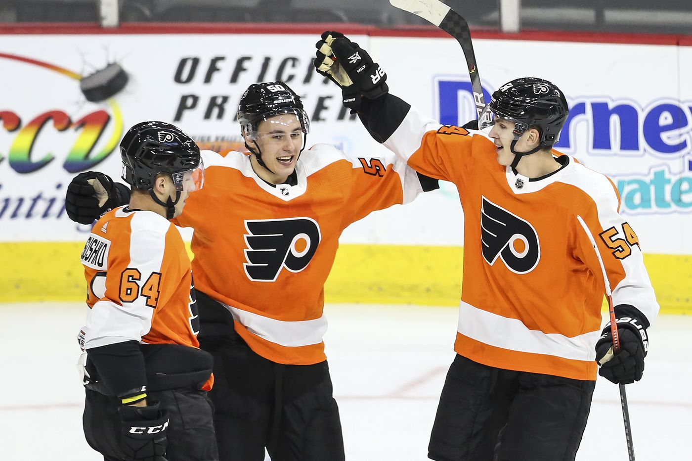 German Rubtsov becomes fourth Flyers player to make his NHL debut this season