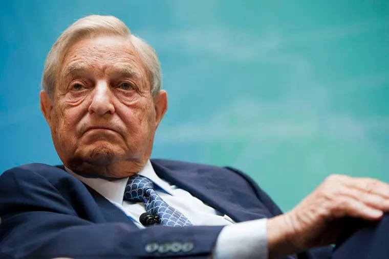 Billionaire George Soros, who has sunk $1 million into a new political action committee supporting Jack Stollsteimer, a Democrat seeking to unseat Delaware County District Attorney Katayoun Copeland.
