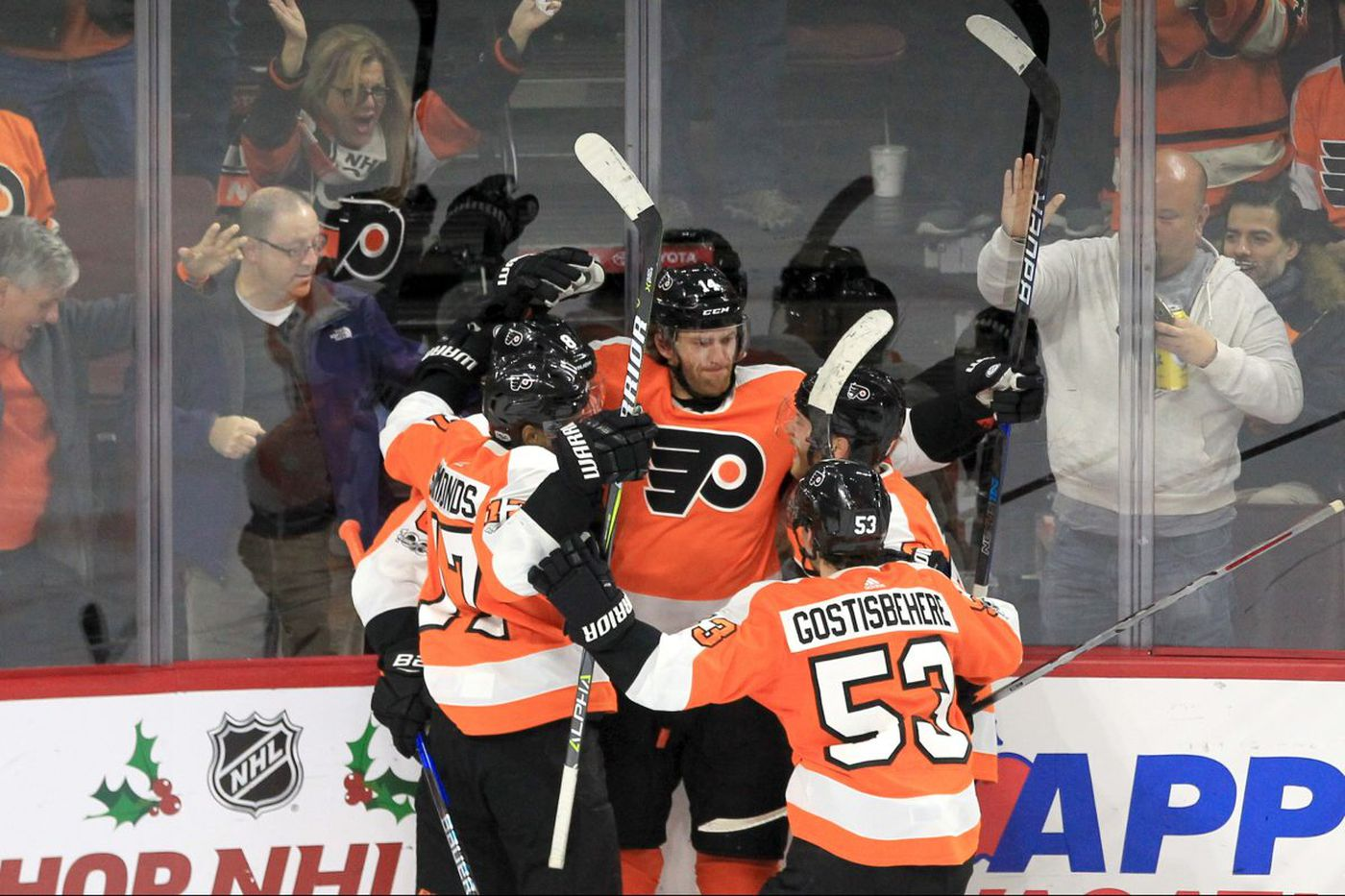 Flyers find winning formula … from smaller things