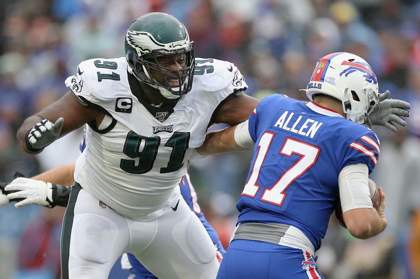 Fast starters Fletcher Cox and Brandon Graham get Eagles defense back on track