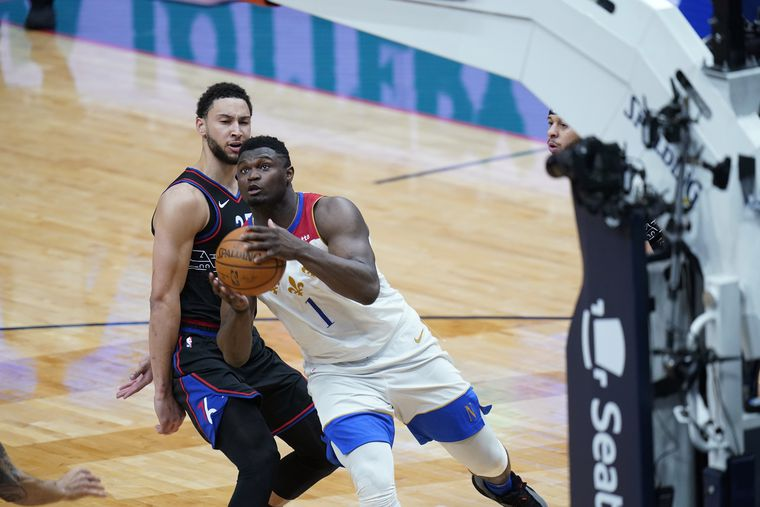 No answers for Zion Williamson, Seth Curry fails to score, 'Mentally weak' effort | Sixers vs. Pelicans Best/Worst