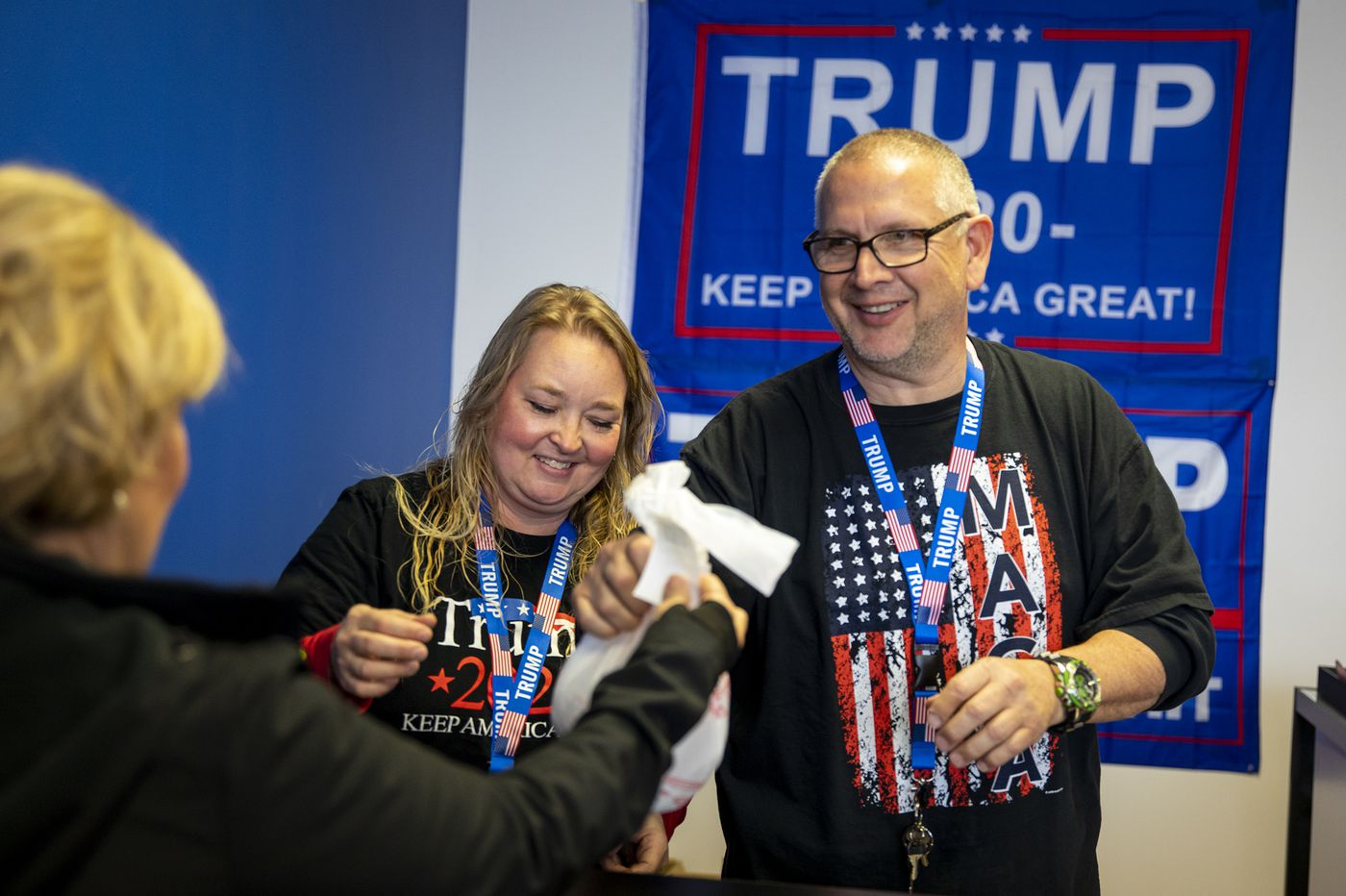 There's a new 'Trump Store' in the suburbs for supporters who wouldn't 'dare wear one of these shirts' in Philly