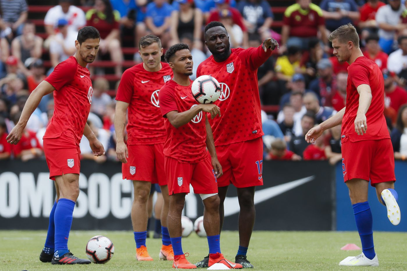 USMNT routed by Venezuela 3-0 in last Gold Cup warmup game