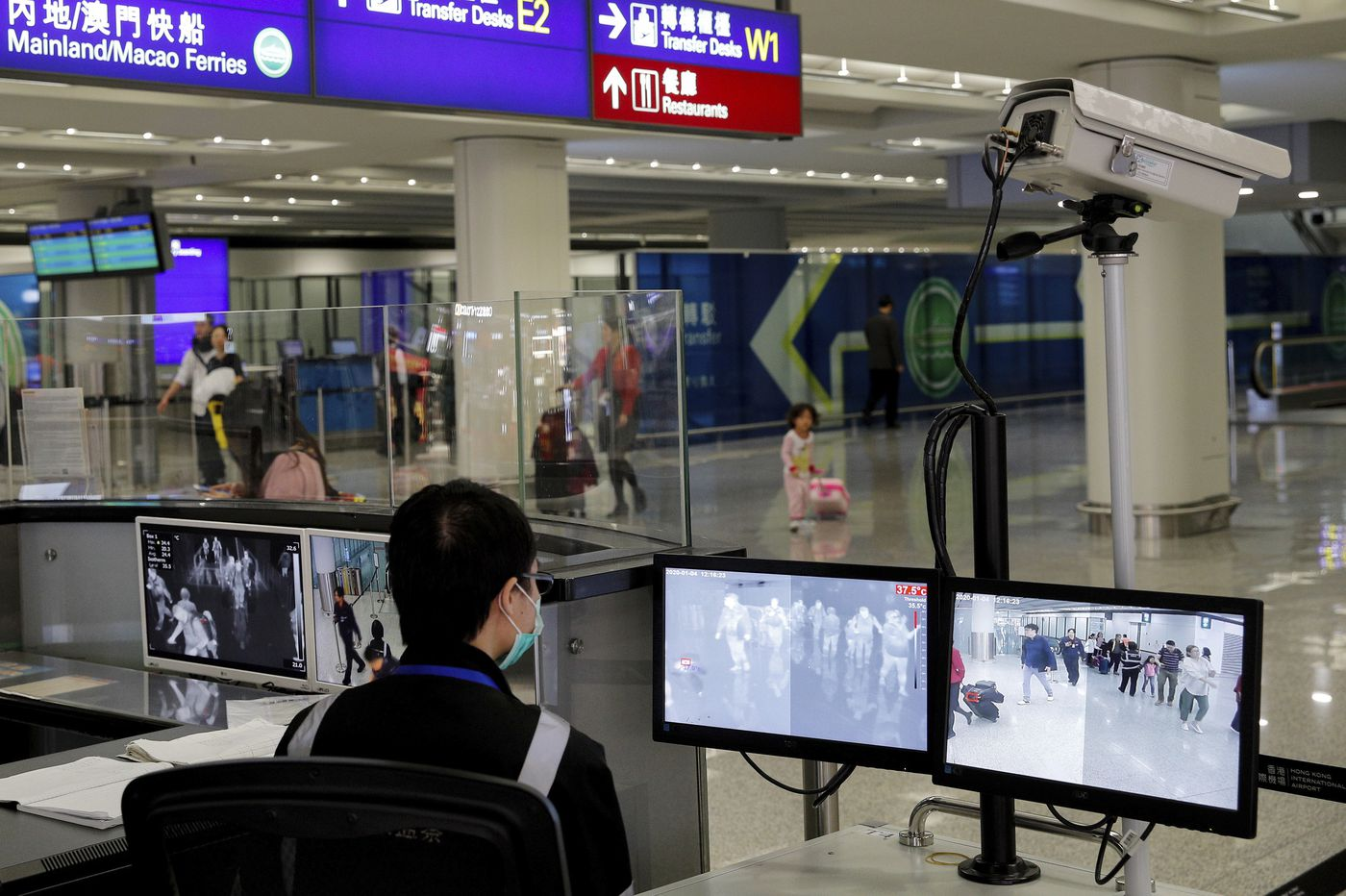 U.S. to screen airline passengers from China for new illness