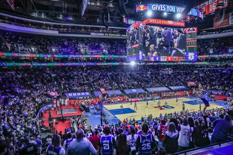 Game 5 of the 1st round of the Eastern Conference playoffs was the first time the Sixers hosted a full capacity game during the 2020-21 season.
