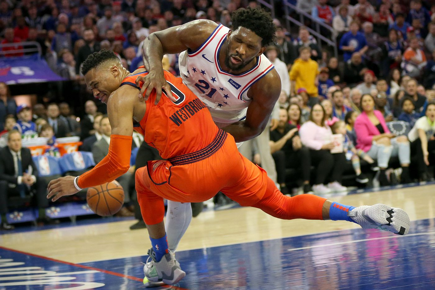 Sixers-Thunder observations, best and worst awards: Joel Embiid's and Russell Westbrook's friction, Furkan Korkmaz's shrinking role