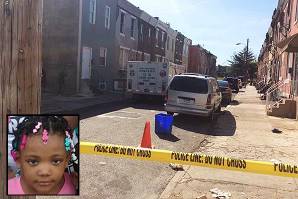 Father flees Kensington home after daughter, 4, shot dead by brother