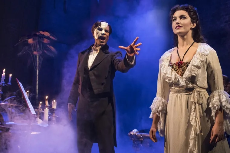 When life imitates art? One writer saw shades of Harvey Weinstein, accused of sexual assault and harassment, in the title character of Phantom of the Opera.