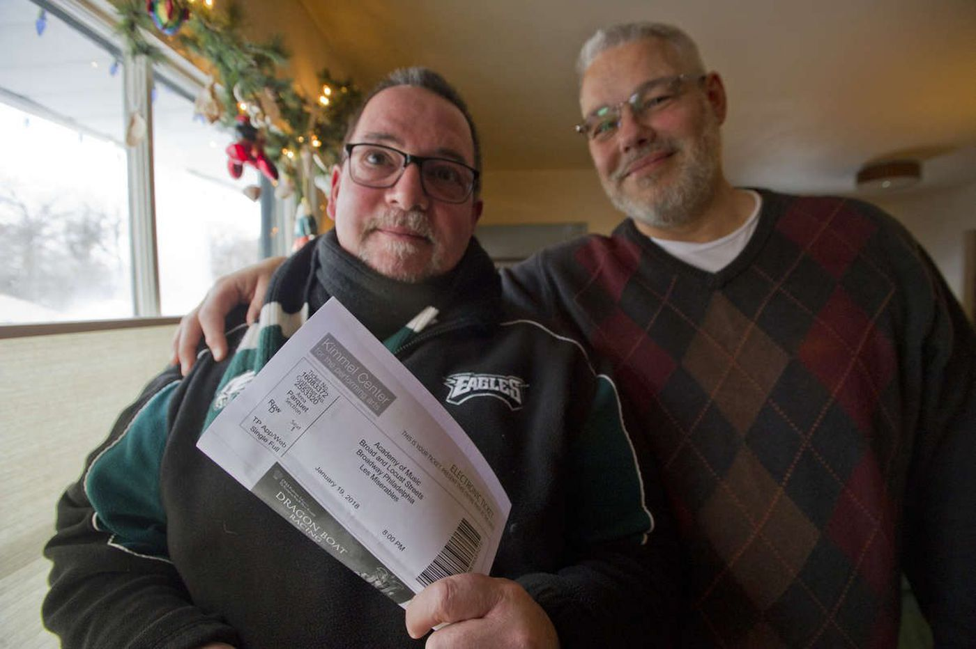 Philly's own Les Misérables: Eagles fans with hot show tickets and other commitments at game time
