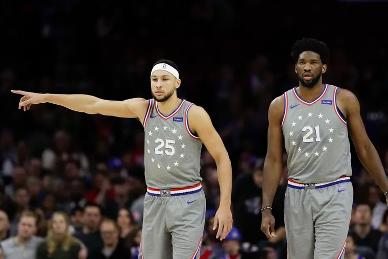 Ben Simmons, Joel Embiid, and the rest of the Sixers will have a fifth uniform set to wear this season - a white variant of the team's Rocky-inspired City uniforms - for making the playoffs last season.