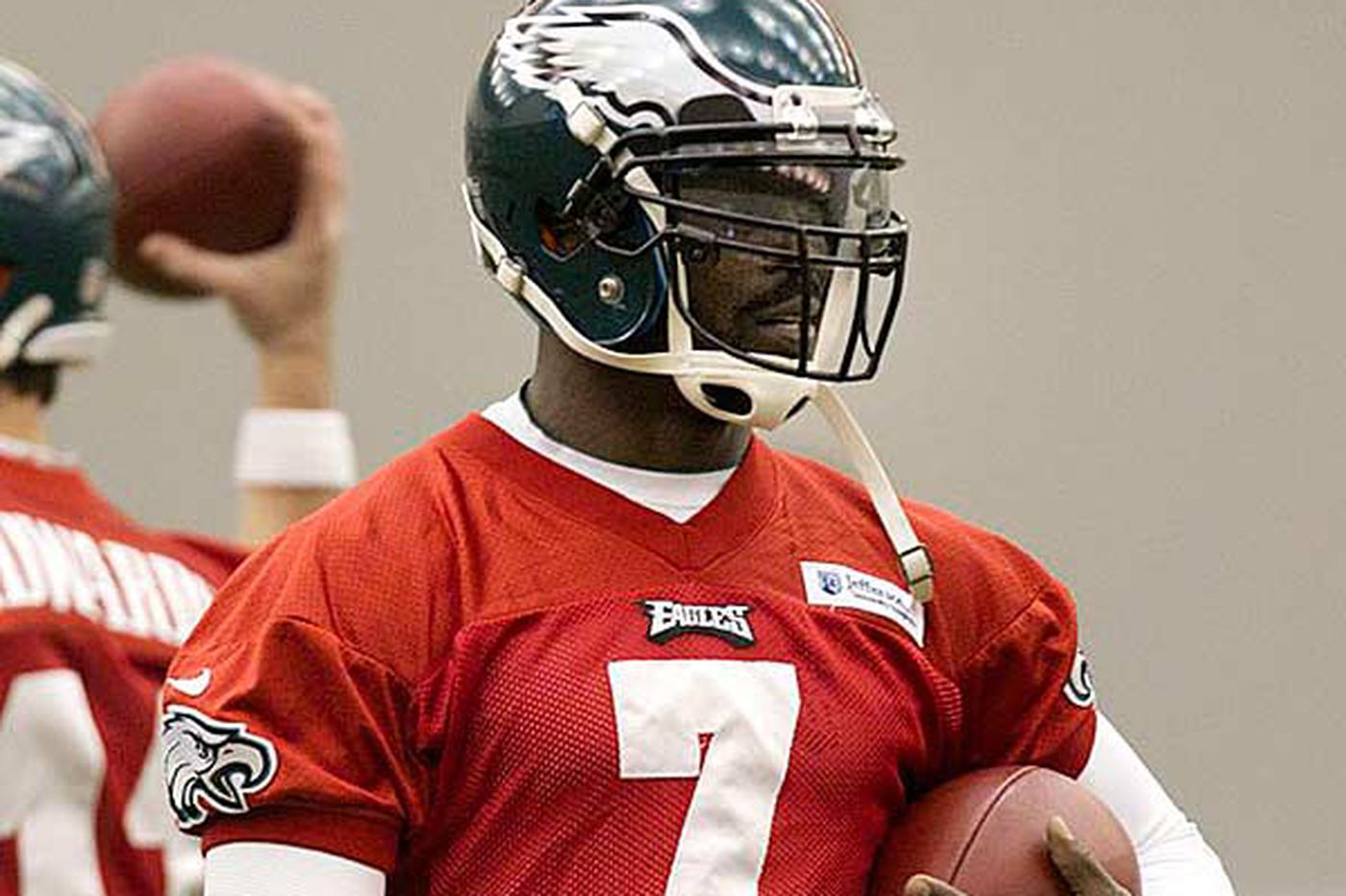 For Eagles' Michael Vick, change has not been good