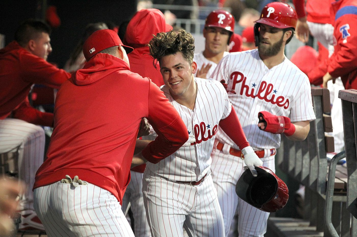 Phillies' Scott Kingery close to returning from strained right hamstring, but David Robertson won't be as quick