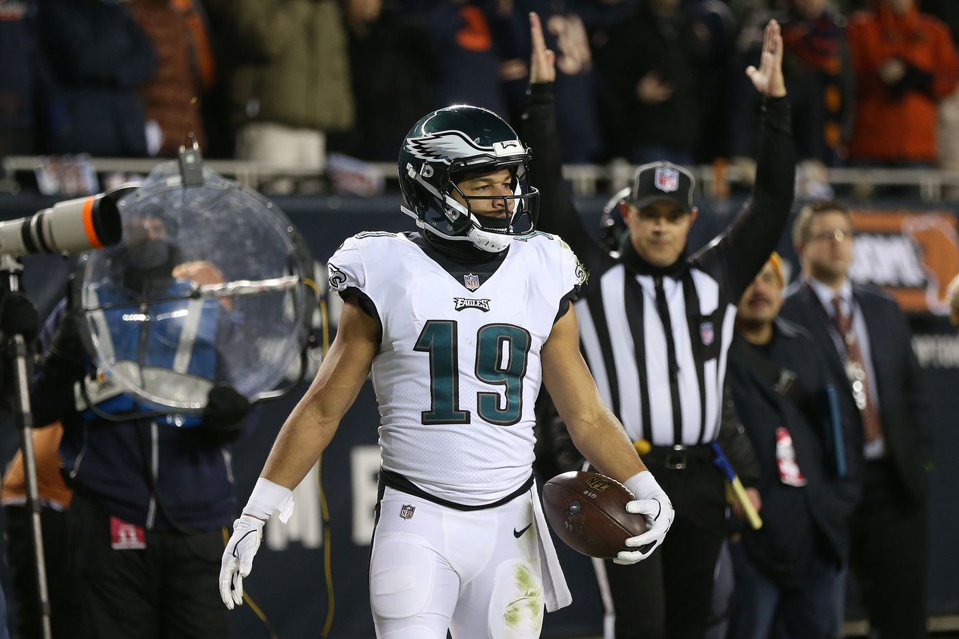 Call it the 'Chicago Special:' Nick Foles' touchdown pass to Golden Tate was perfect   Jeff McLane