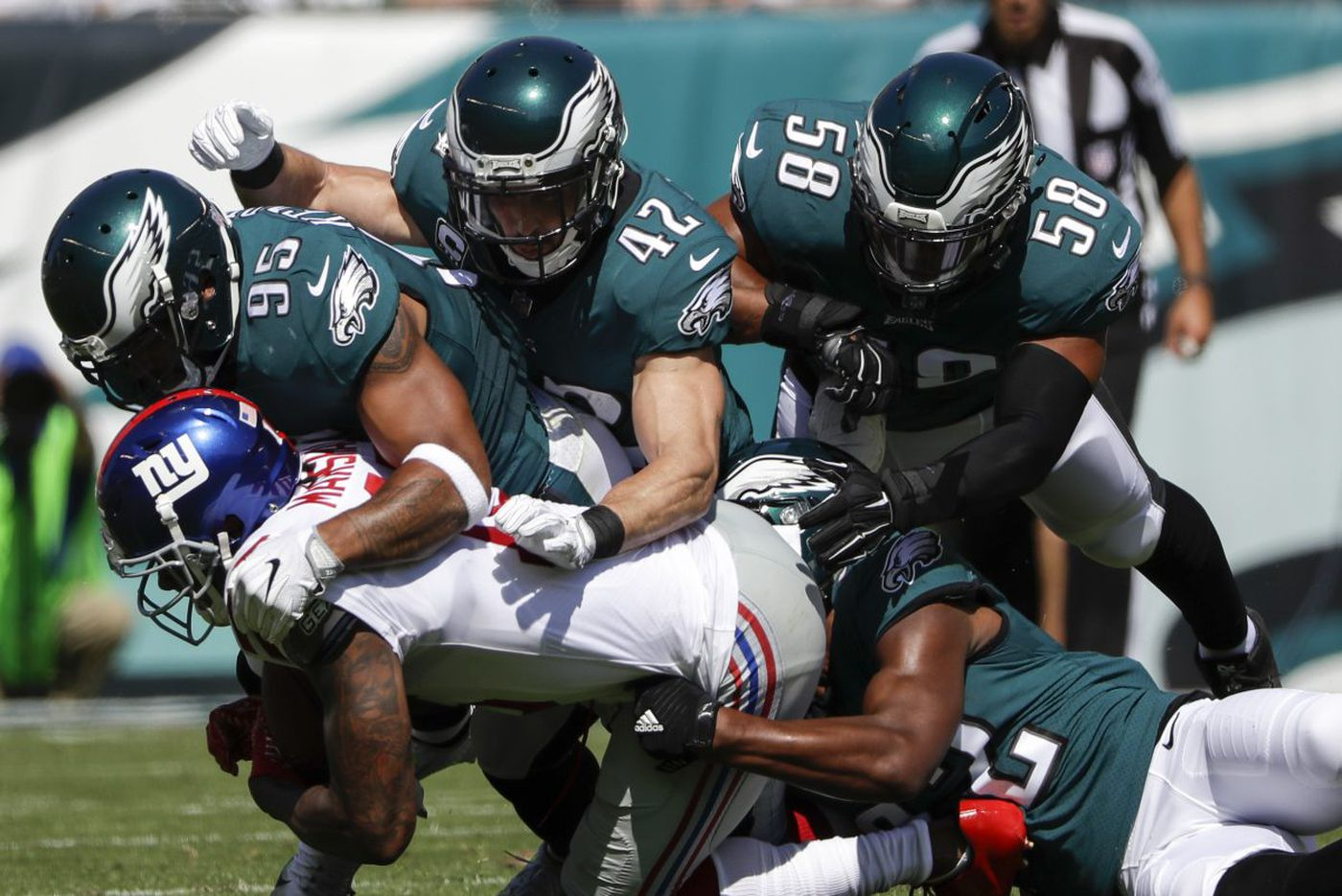 Eagles getting chill performances from Mychal Kendricks, mon | Marcus Hayes