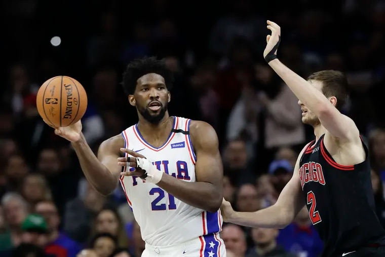 Joel Embiid and the Sixers have already clinched a playoff berth.