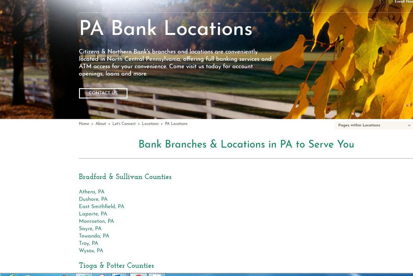 Citizens & Northern buys Bucks County's Monument Bank for $43 million