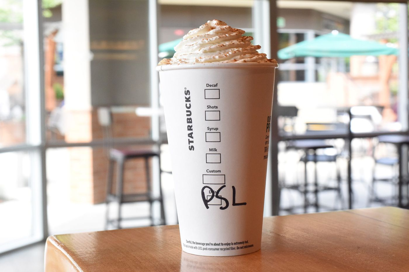 Why Starbucks' pumpkin spice latte sells, despite the online shame (and 90-degree weather)