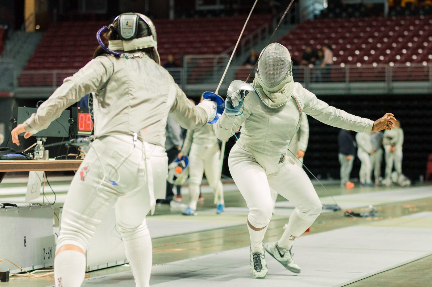 Temple fencer Blessing Olaode gears up for international competition