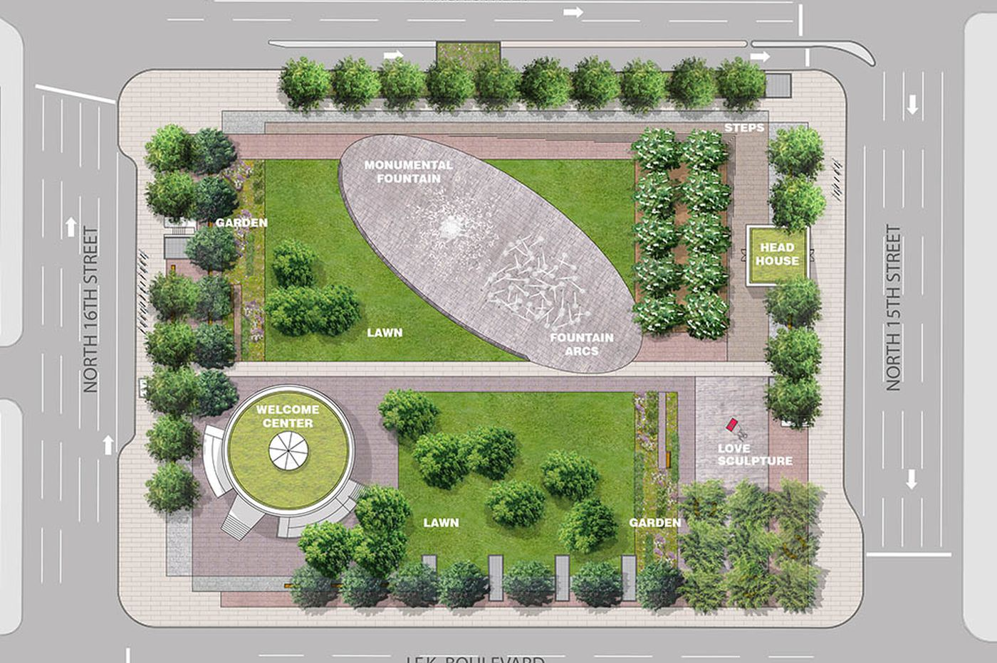 A bold new vision for LOVE Park