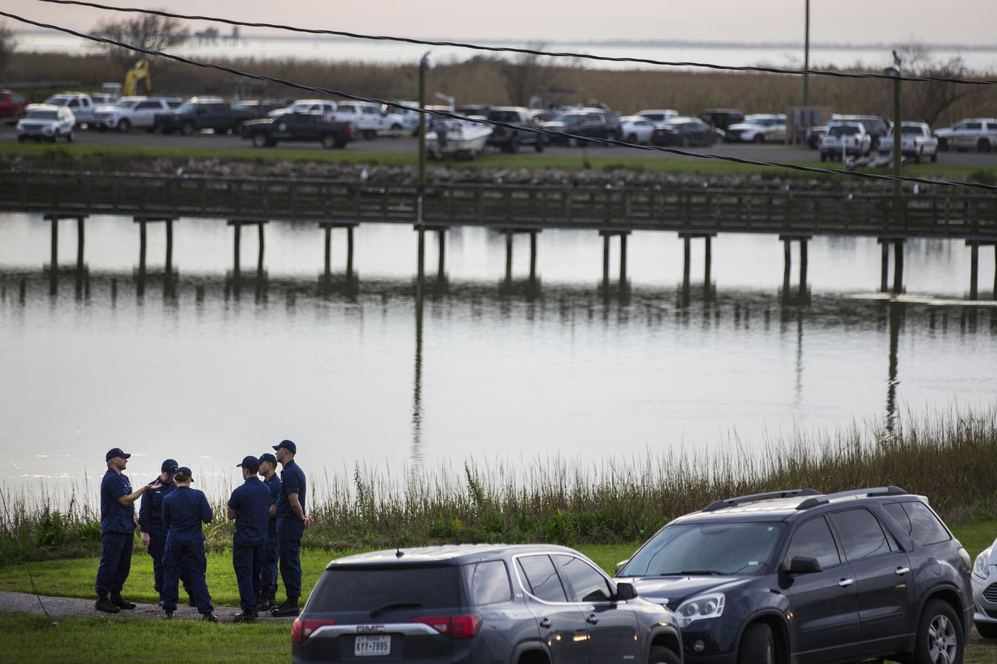 Search Continues For Body At Texas Plane Crash Site