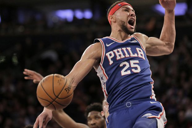 Ben Simmons finds nice balance with 20 points, 22 rebounds in win over Knicks