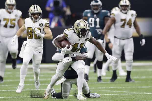 Saints' Alvin Kamara keeping his mouth shut about Eagles after eyebrow-raising comments last summer