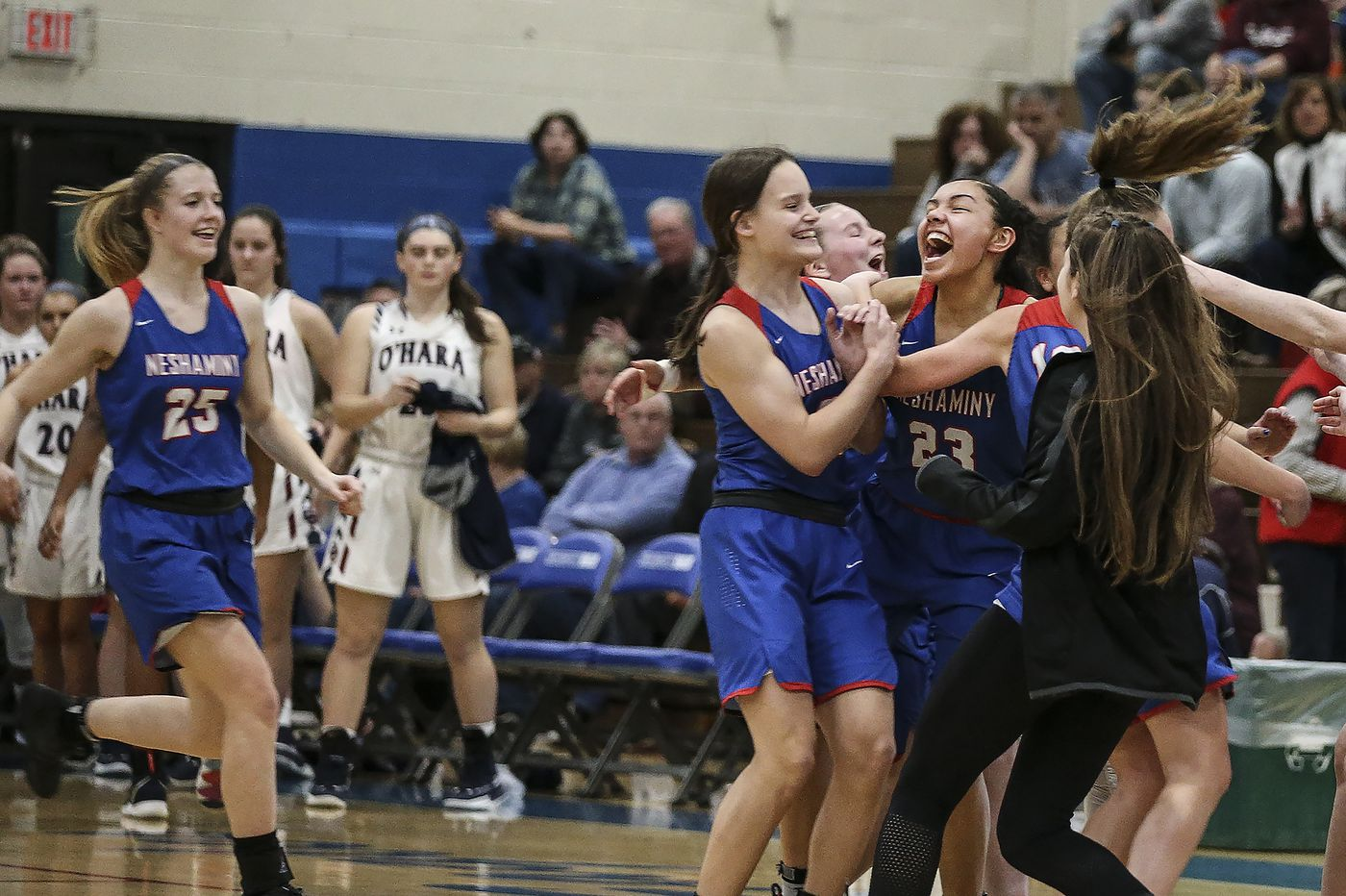 PIAA Class 6A girls playoffs: Brooke Mullin, Kristin Curley lead Neshaminy past Cardinal O'Hara in quarterfinals
