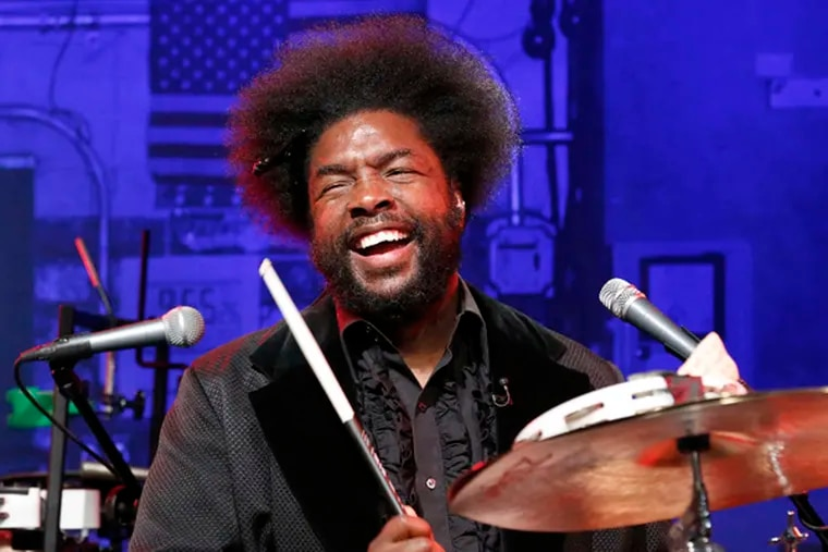 """Questlove on """"Late Night with Jimmy Fallon."""" (Photo by: Lloyd Bishop/NBC)"""
