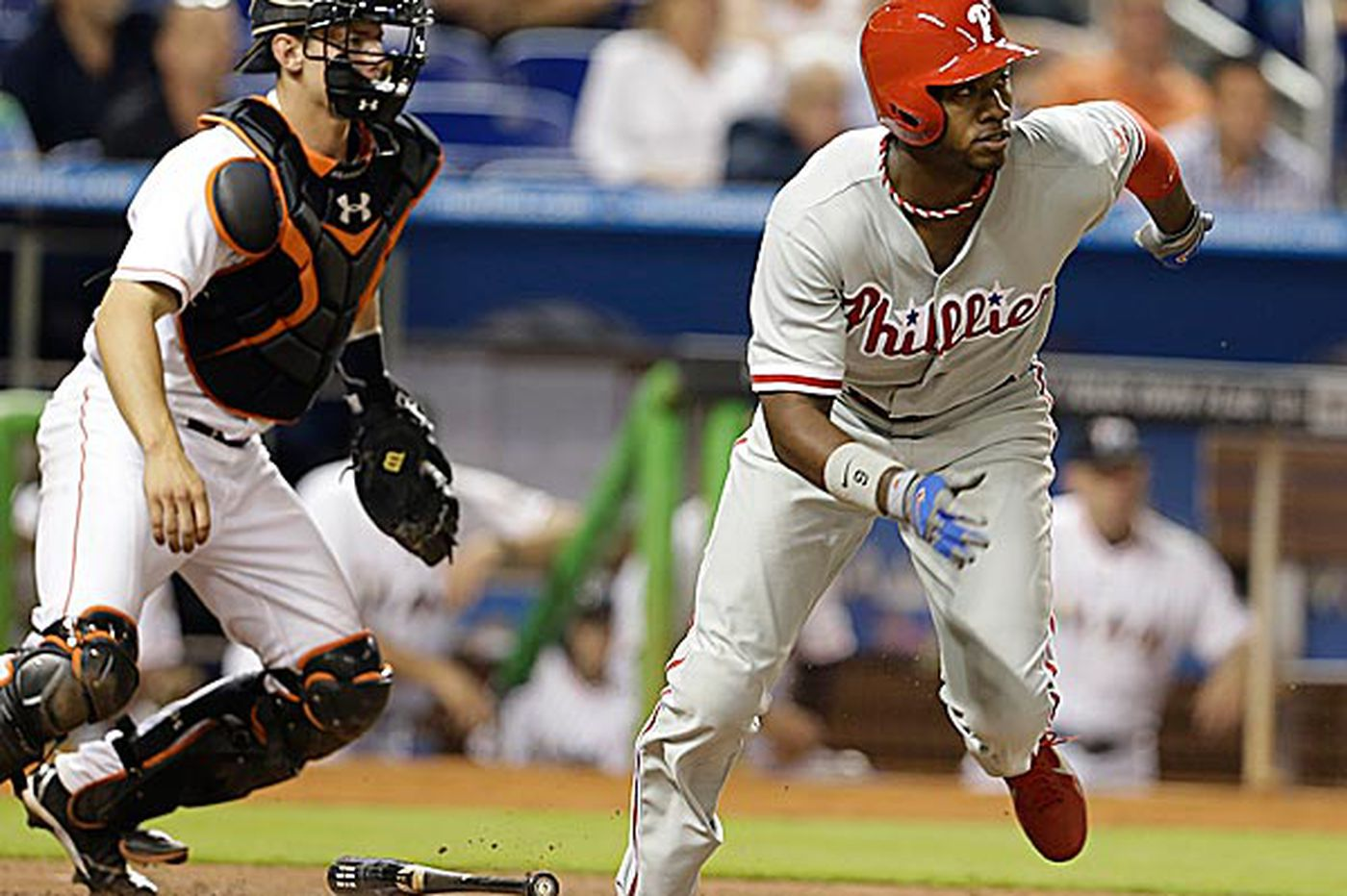 Phillies Notebook: Hot-hitting Brown named NL Player of the Week
