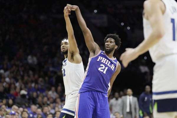 Joel Embiid trolls Karl-Anthony Towns on Instagram: 'Don't get it twisted I OWN YOU'
