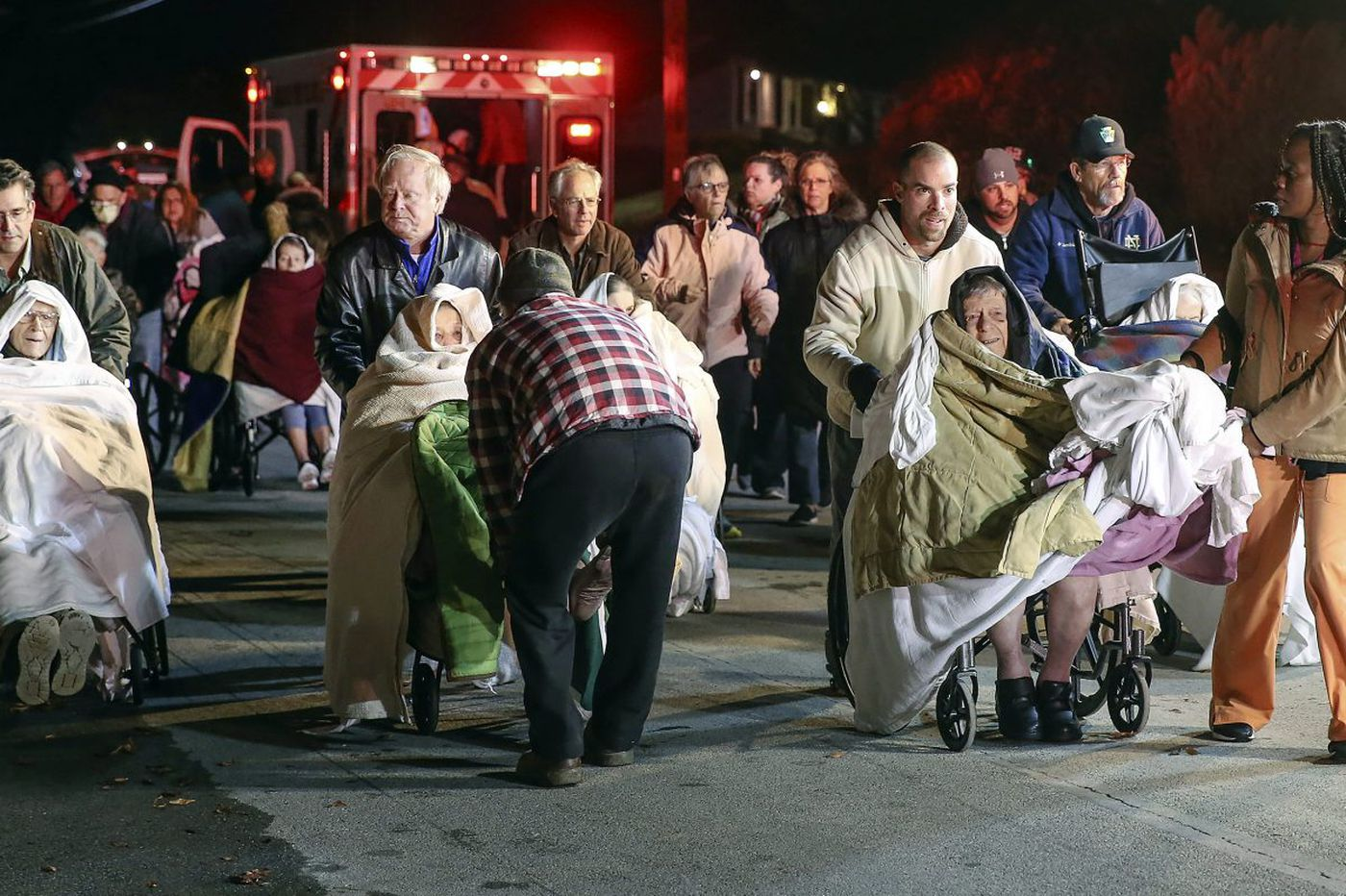 At West Chester nursing home fire, a heroic effort to evacuate residents