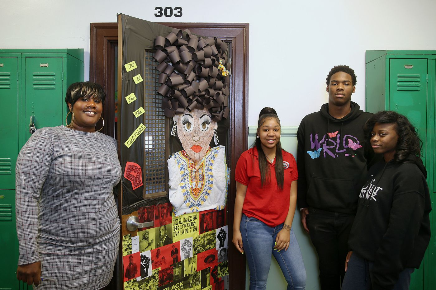 In what's so far been a dumpster fire of a Black History Month, Philadelphia classroom doors are a much needed bright spot | Helen Ubiñas