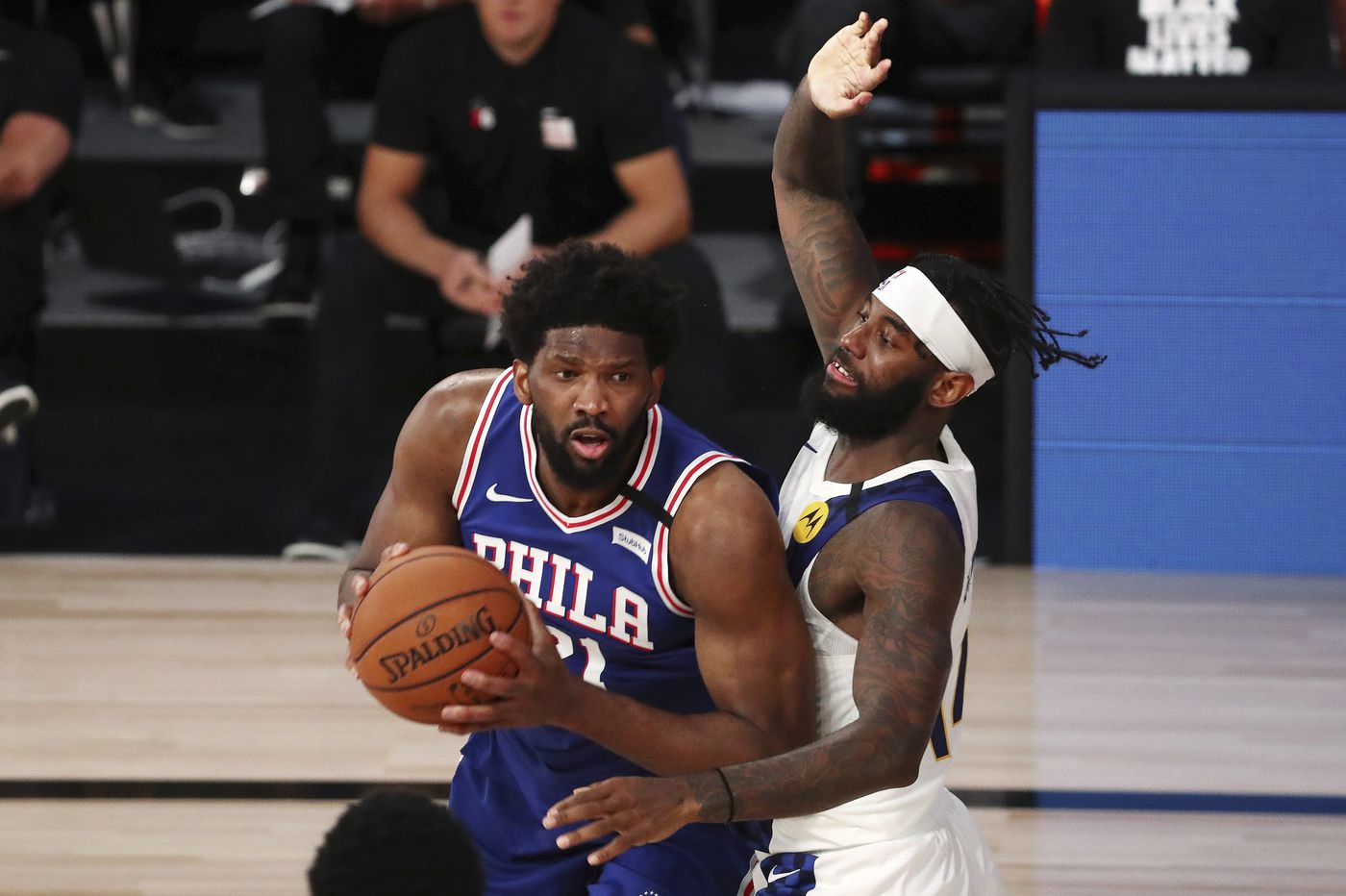 Sixers coach Brett Brown doesn't think Joel Embiid's right hand will restrict him from playing against Celtics