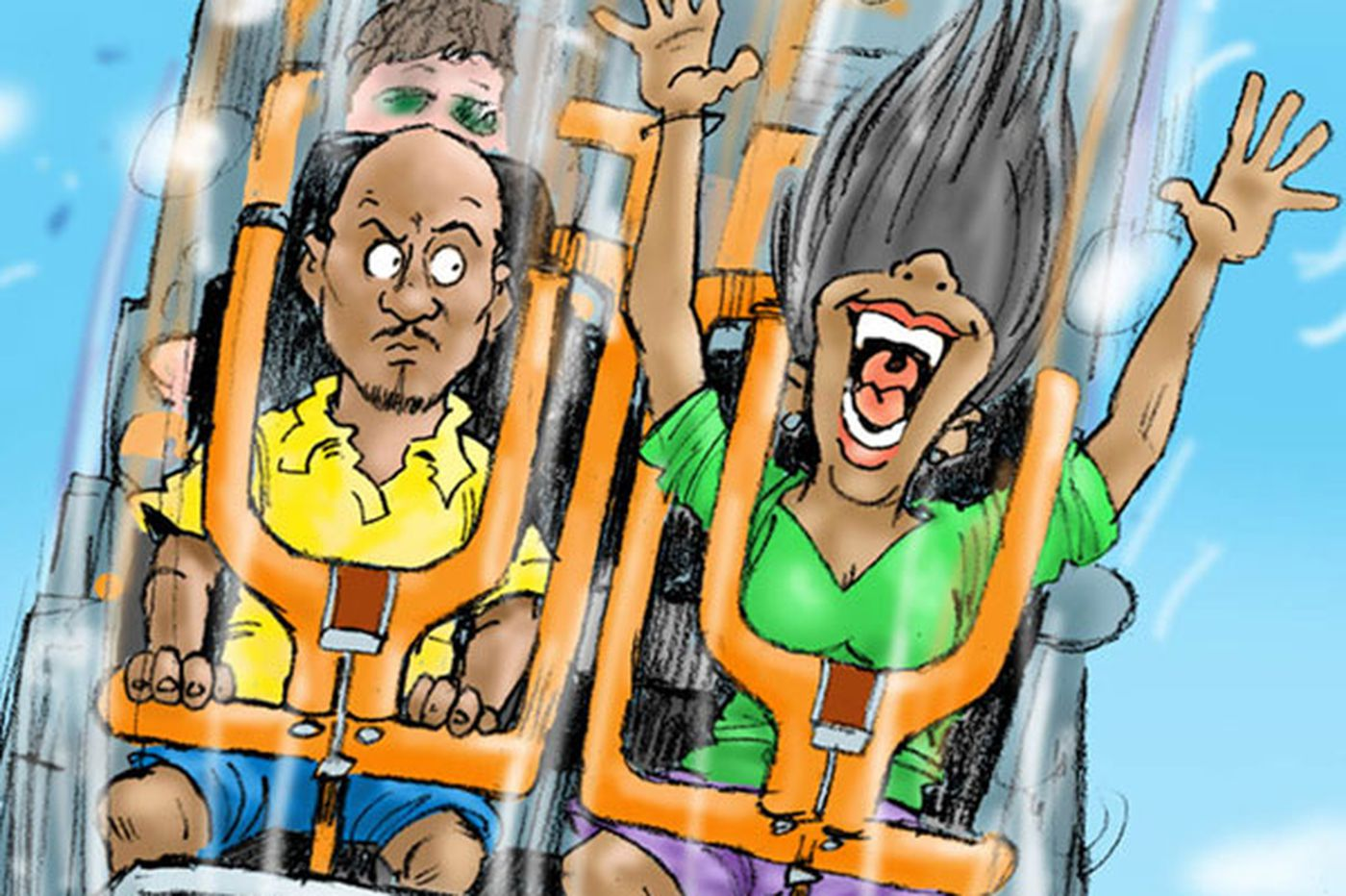 Face it: Life's a roller coaster, sooner or later