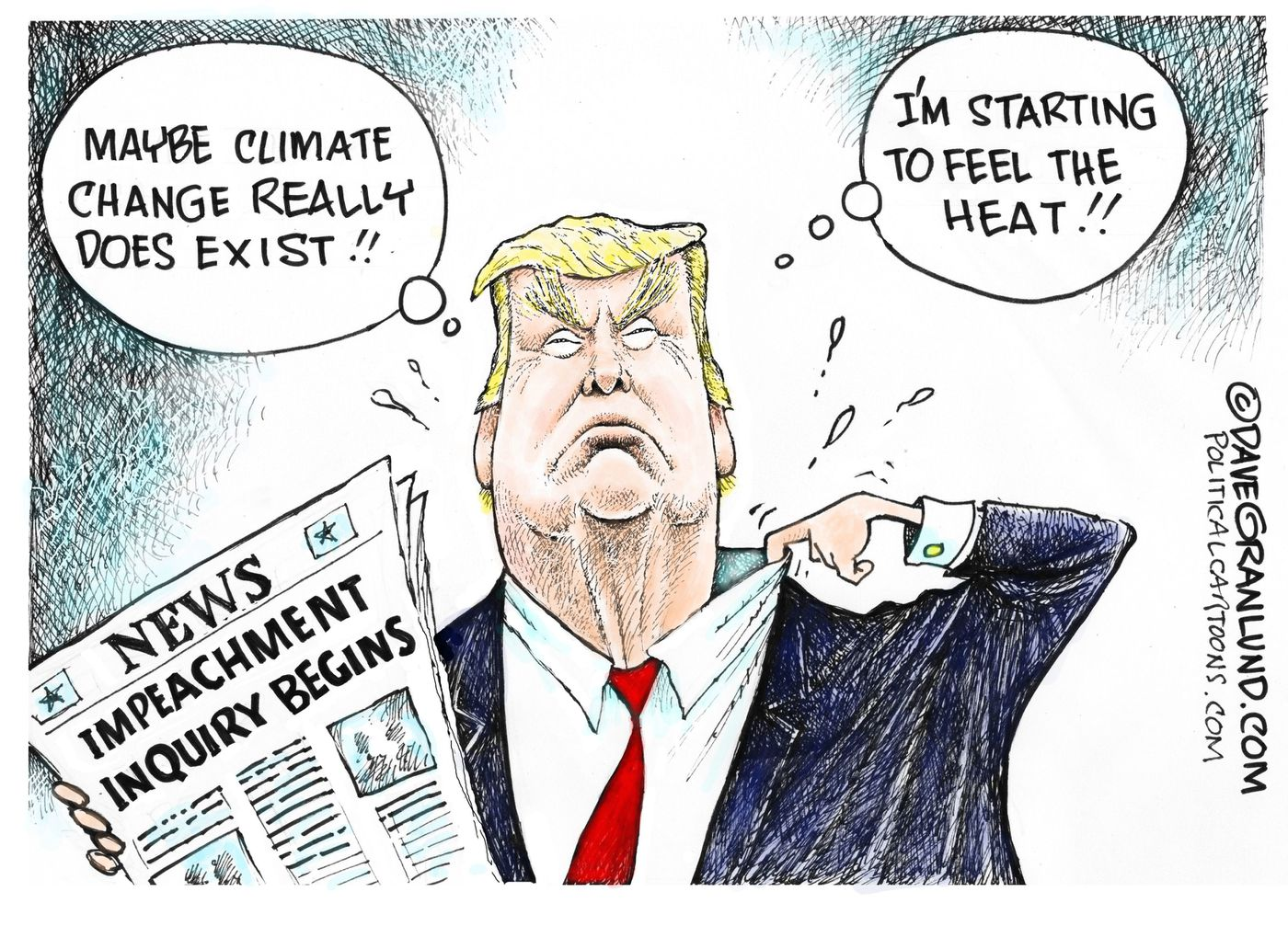 Political Cartoon Roundup Trump Impeachment Inquiry Opinion