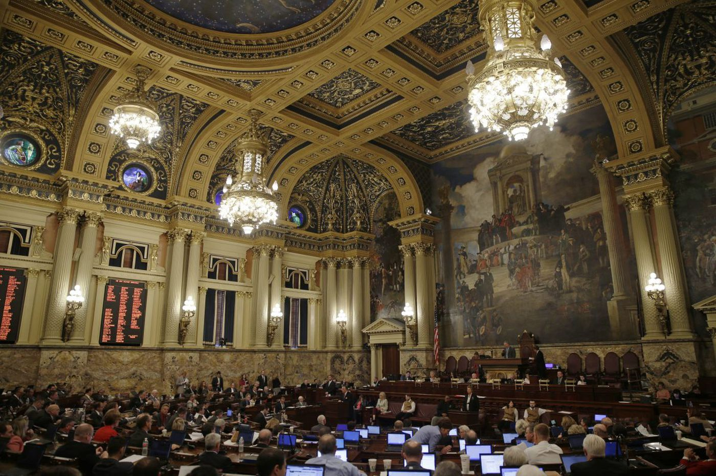 Wait. What? Pa. House to really shrink?