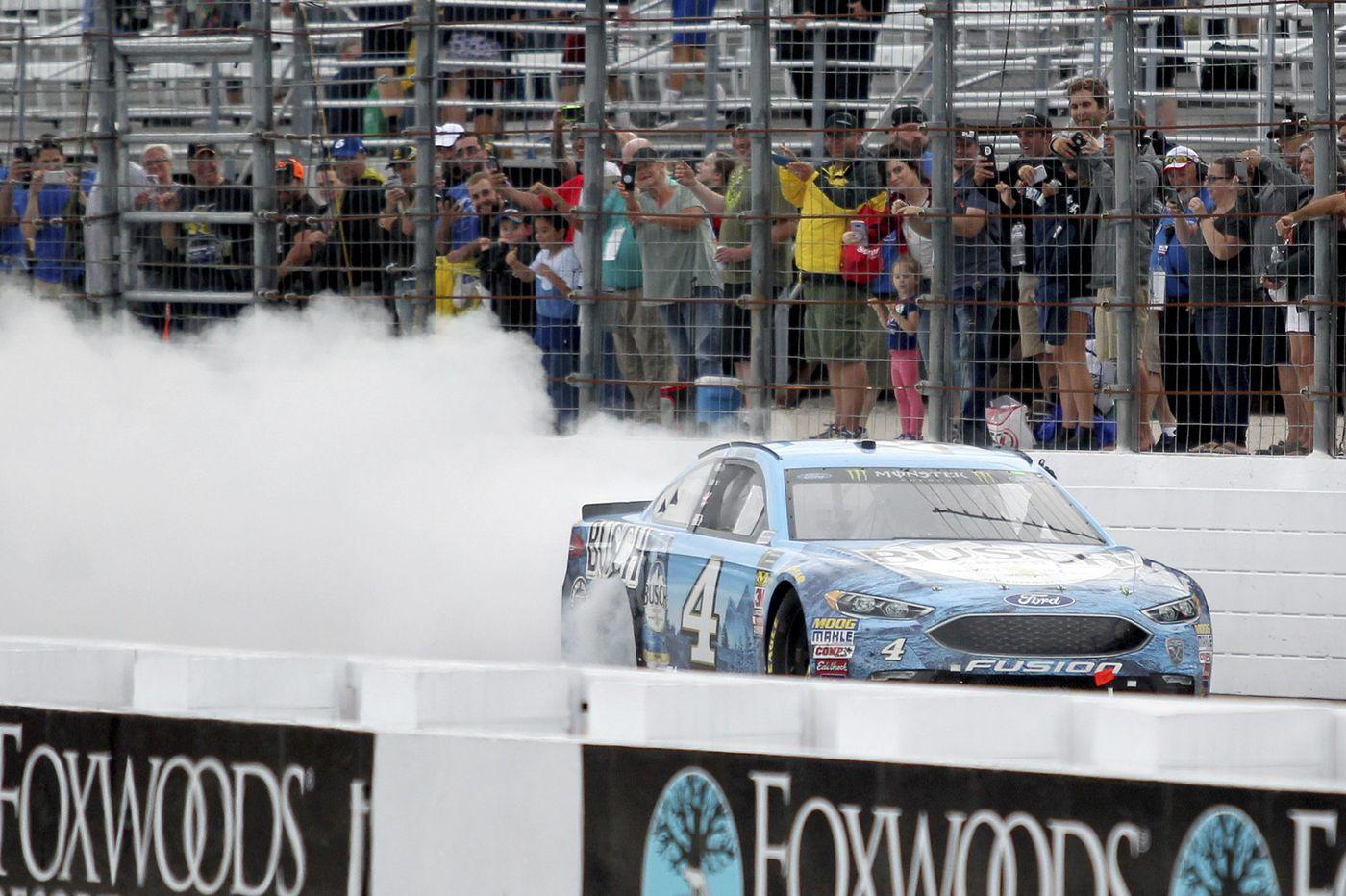 After Kevin Harvick's taps, NASCAR picks up at Pocono