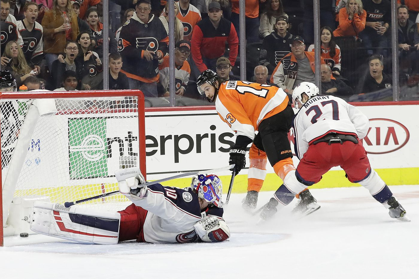 Flyers expect playoff-type atmosphere for next two games, both vs. Columbus Blue Jackets