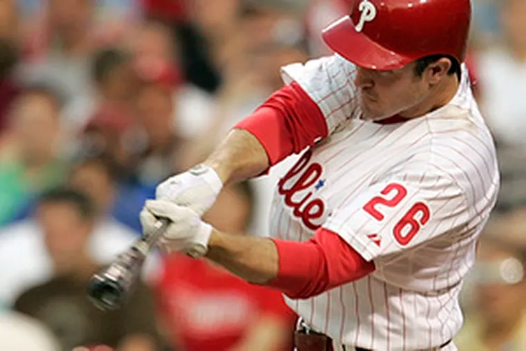 Chase Utley in 2008