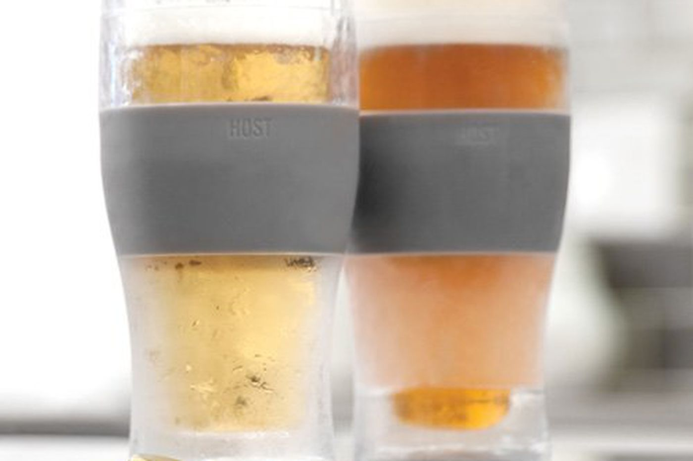 Freezable pint glasses for an ice-cold Father's Day gift