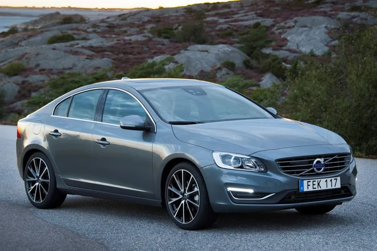 The 2018 Volvo S60 has the Volvo look we've grown accustomed to.