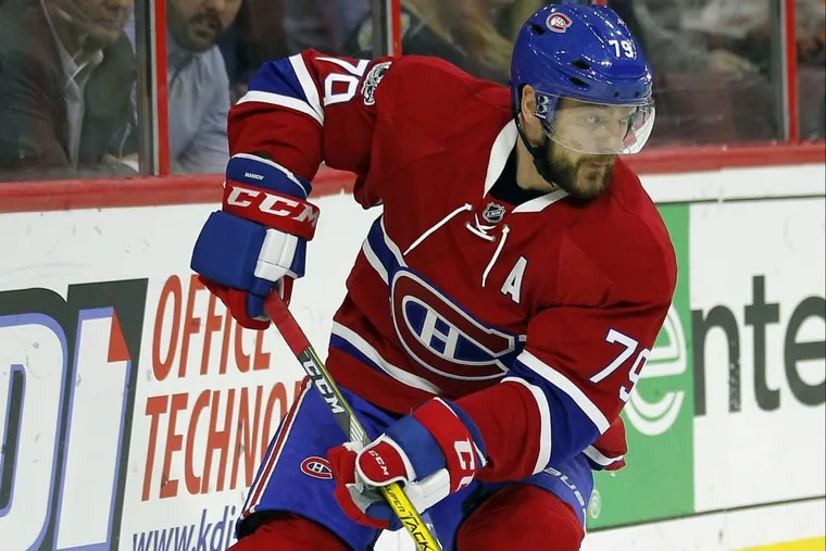 Defenseman Andrei Markov, 38, is unlikely to sign with the Flyers for next season.