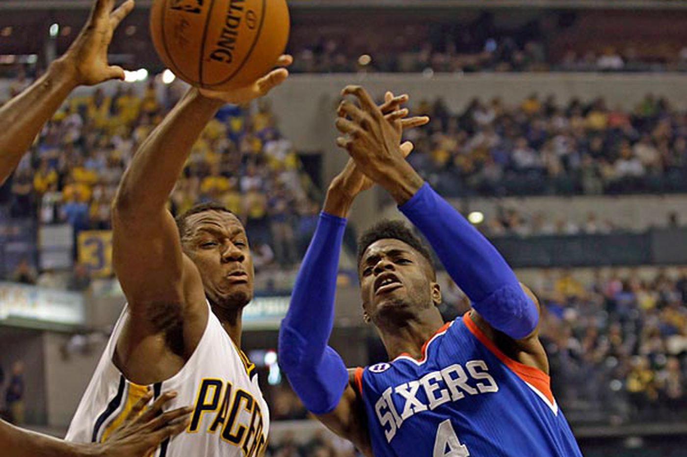 Sixers still experience growing pains